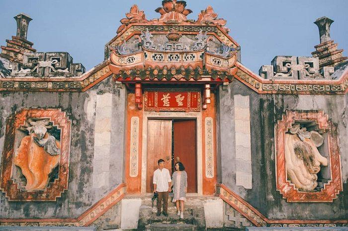 Giấc mộng thấy mình đi chùa ở Hội An chọn ghi lô đề các số 16 - 73 - 09